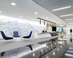 Lobby Office Design within Modern Office Lobby Interior Design Office  Reception Interior