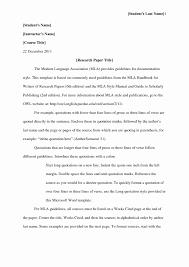 Mla Formatting For Works Cited Page Mla Format Works Cited Scarlet Letter Best Of Apa Style Format Essay