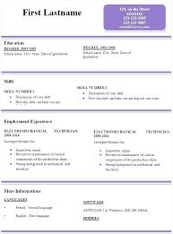 Simple Resume Format Inspiration Resume Format Template Free Download Sample Simple Resume Resume