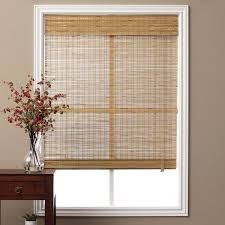 bamboo window blinds. Perfect Bamboo Arlo Blinds Corded Tuscan Bamboo Roman Shade With 74 Inch Height Throughout Window L