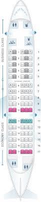 Klm Plane Seating Chart Seat Map Klm Fokker 70 Seatmaestro