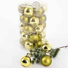 Amazonde Weihnachtskugel Premium 30er Set Glas 4cm Xmas