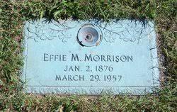 Effie Maud Aldrich Morrison (1876-1957) - Find A Grave Memorial
