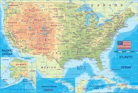 usa political map us political map america political map