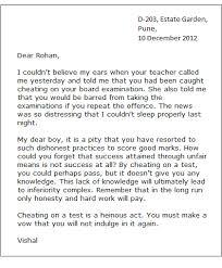 Sample Informal Letter Letter Writing Examples Informal
