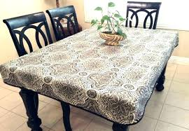 fitted plastic tablecloths image 0 oval fitted plastic tablecloths