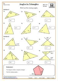 Lines and Angles Worksheet Answers | KS3 and KS4 Angles Worksheet