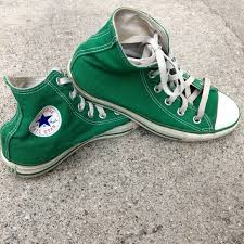 converse 90s. converse shoes - 90\u0027s vintage green high top 90s t
