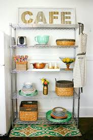 Wire kitchen rack Cupboards White Kitchen Wire Shelving How To Create More Space In The Kitchen How To Decorate Small Kitchen Wire Shelving Cheaptartcom Kitchen Wire Shelving Innovative Chrome Kitchen Shelves Charming