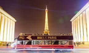 big bus tours dès 12 99 paris