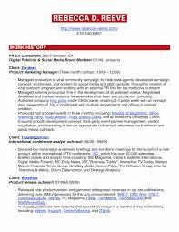 Sample Social Media Resume Social Media Resume Sample Lovely Brand Essay General Utility Worker 84