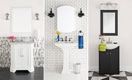 small bathroom makeovers. 3 Bold Black-and-White Bathroom Makeovers Small L