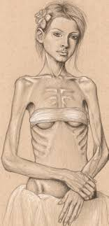 anorexic face drawing. Interesting Drawing What Need Does Anorexia Meet In Your Life And Anorexic Face Drawing