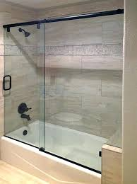brave sliding shower glass doors super duper sliding glass door shower barn door style sliding glass