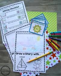 Kindergarten Writing Unit 1 - Planning Playtime