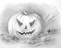 pumpkin drawing with shading. halloween2 halloween3 pumpkin drawing with shading n