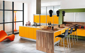 yellow kitchen decorating ideas and modern kitchen ideas with beautiful view of the kitchen that using beautiful modern kitchen lighting pendants yellow