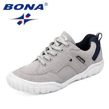 <b>BONA New Classics Style</b> Children Casual Shoes Outdoor Walking ...