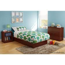 south shore libra twin kids platform bed  the home depot