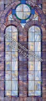 stained glass applique for church windows design in 36 in 36 plain