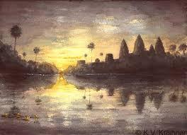 5 30 am sunrise at angkor wat cambodia