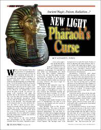 New Light On The Pharaoh's Curse Atlantis Rising Magazine Library Best Bear In Hing Reng