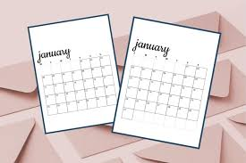 Other options for the coloring/regular calendar are to put a check mark or sticker in the box for each. Free Printable 2021 Monthly Calendars Sunday Monday Starts