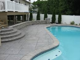 stamped concrete pool patio. Pattern Concrete For Pools Stamped Pool Patio E