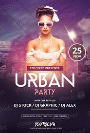 Club Flyer Templates Free Download Urban Party Free Psd Flyer Template Free Flyer