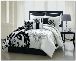 black and white comforter medium size of black white bedding set with trim sets eastern king black and white comforter classic reversible comforter set