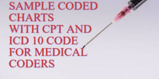 Sample Coded Medical Coding Charts For Practice Medical