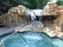 inground pools with waterfalls and hot tubs. Hot Tub With Waterfall Picture Of Lakes Valve Repair Inground Pool Pools Waterfalls And Tubs T