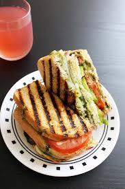 Bombay Vegetable Grilled Sandwich Recipe (Veg grilled sandwich recipe)