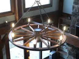 1 2 3 4 n wagon wheel chandelier