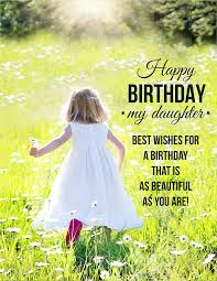birthday wishes for dear daughter