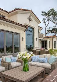 mediterranean outdoor furniture. mediterranean design ideas patio with clay tile roof outdoor seating furniture
