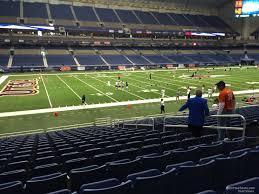 Alamodome Section 116 Utsa Football Rateyourseats Com