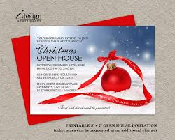 christmas open house flyer 44 best holiday open house invitations images on pinterest open