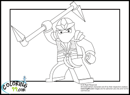 Lego Ninjago Coloring Pages Getcoloringpagescom