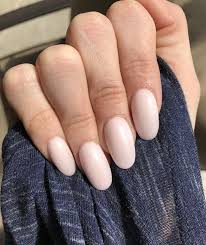 Acrylic Nail Designs Oval Soft Matte Pink Oval Acrylic Nails Acrylic Nails Oval