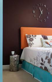 Captivating Numero Modern Wall Clock Modern Bedroom