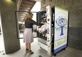 Book Vending Machine Magnificent Fullerton Installs 4848 Book Vending Machine Orange County Register