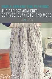 Arm Knitting Patterns Enchanting Chunky Arm Knit Blanket Pattern Living The Life Pinterest