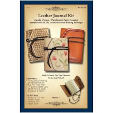 product number c4182 leather journal kit