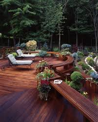 40 Landscaping Deck Design Ideas For Small Backyards Style Motivation Extraordinary Decking Designs For Small Gardens Design