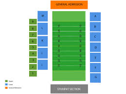 Nevada Wolfpack Football Stadium Seating Chart Nevada Wolf Pack Football Tickets At Mackay Stadium On September 1 2018 At 12 00 Pm