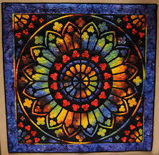 Fabric Art Quilted Wall Hangings by Mominee Studio &