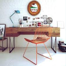cool office decor for walls cool home office design with exposed brick walls organization ideas unique coolest home offices office office decor grey walls