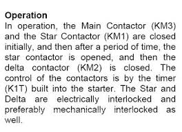 Type 2 Coordination Chart For Star Delta Starter L T How To Select Contactor For Star Delta Starter Cr4