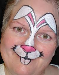 easter bunny face painting by shannon fennell one size fits all